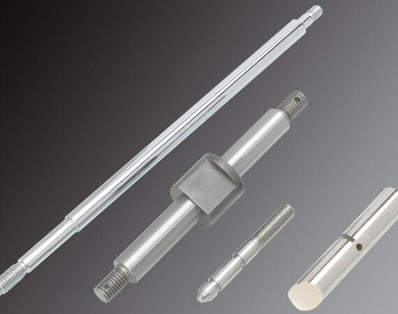 AXES en métal Usinées sur CN PM - Capacité : Ø de 3 à 32 mm