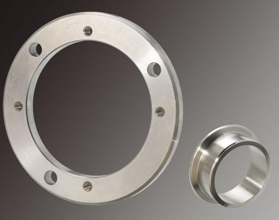 BAGUES en métal usinées sur CN PF Capacité : Ø de 5 à 80 mm