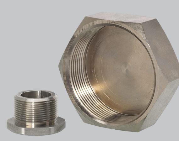 BOUCHONS en métal usinés sur CN PF - Capacité : Ø de 5 à 80 mm