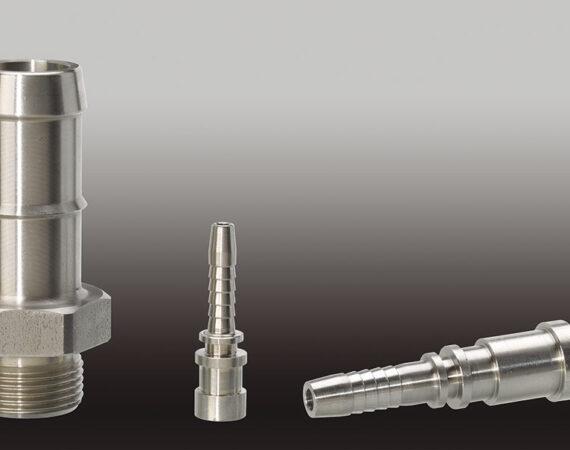 EMBOUTS en métal usinés sur CN - Capacité : Ø de 5 à 80 mm