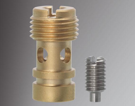 GICLEURS en métal usinés sur CN PM - Capacité : Ø de 3 à 32 mm