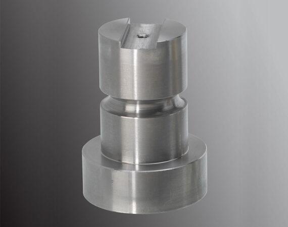 PIÈCES MASSIVES en métal usinées sur CN PF - Capacité : Ø de 3 à 70 mm